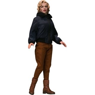 Star Ace Toys Marilyn Monroe My Favourite Legend Action Figure 1/6 Military Outfit 29 cm