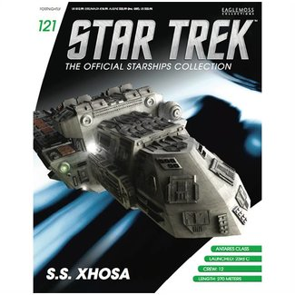 Eaglemoss Collections Star Trek Official Starships Collection #121