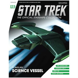 Eaglemoss Collections Star Trek Official Starships Collection #123