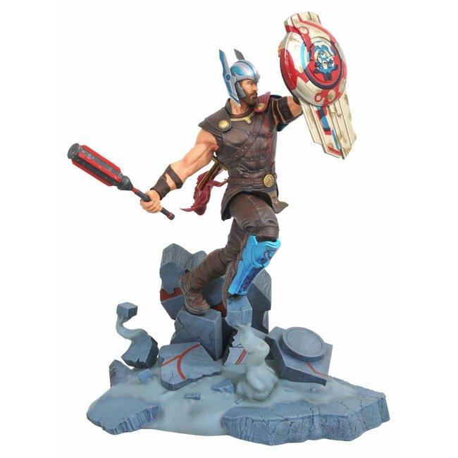 Diamond Select Toys Thor Ragnarok Marvel Movie Milestones Statue Gladiator Thor 43 cm