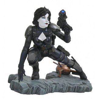 Diamond Select Toys Marvel Comic Premier Collection Statue Domino 21 cm