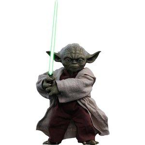 Star Wars Episode II Movie Masterpiece Action Figure 1/6 Yoda 14 cm