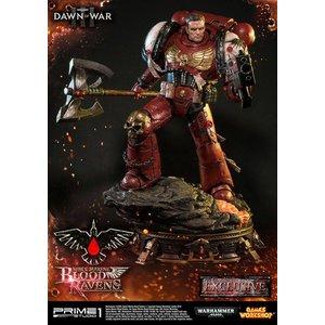 Warhammer 40K Dawn of War III Statue Space Marine Blood Ravens Deluxe Version 72 cm