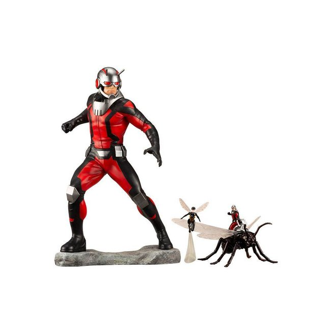 Kotobukiya  Marvel Comics Avengers Series ARTFX+ PVC Statue 1/10 Astonishing Ant-Man & Wasp 19 cm