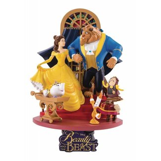 Beast Kingdom Beauty and the Beast D-Select PVC Diorama 15 cm