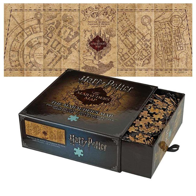 Noble Collection Harry Potter Jigsaw Puzzle The Marauder's Map Cover