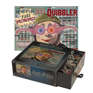Noble Collection Harry Potter Jigsaw Puzzle The Quibbler Magazine Cover