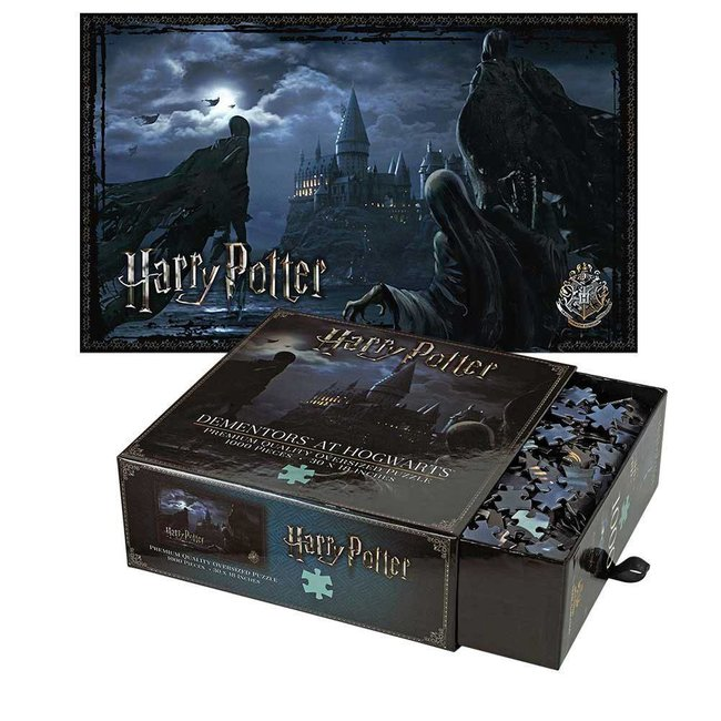 Noble Collection Harry Potter Jigsaw Puzzle Dementors at Hogwarts