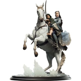 Weta Workshop Lord of the Rings Statue 1/6 Arwen & Frodo on Asfaloth