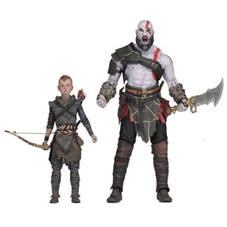 NECA  God of War (2018) Ultimate Action Figure 2-Pack Kratos & Atreus 13-18 cm