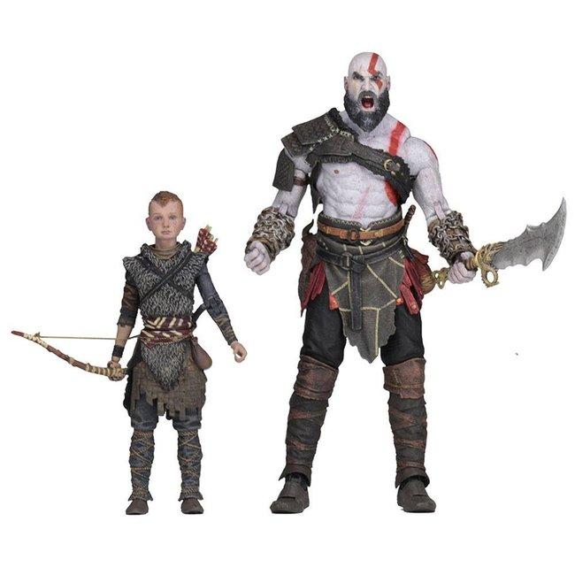 NECA  God of War (2018) Ultimate Action Figure 2-Pack Kratos & Atreus 13-18 cm