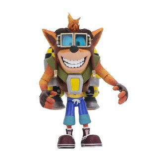 NECA  Crash Bandicoot Deluxe Action Figure Crash with Jetpack 14 cm