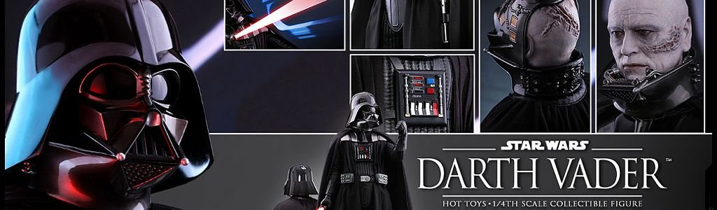 Darth Vader 1/4 Scale by Hot Toys