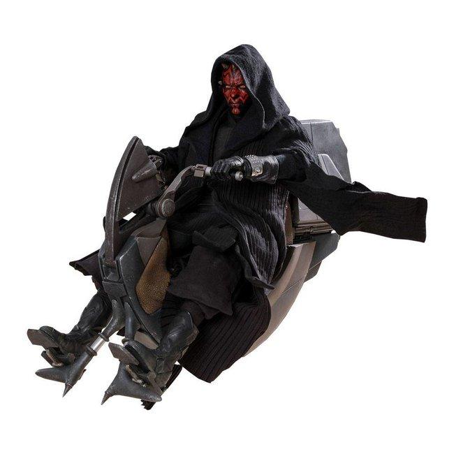 Hot Toys Star Wars Episode I DX Series Action Figure 1/6 Darth Maul & Sith Speeder 29 cm