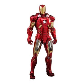 Hot Toys Marvel's The Avengers Diecast Movie Masterpiece Action Figure 1/6 Iron Man Mark VII 32 cm