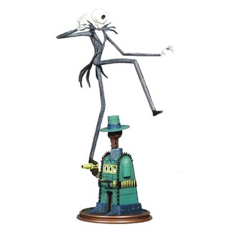 Diamond Select Toys Nightmare before Christmas Gallery PVC Statue Oogie's Lair Jack