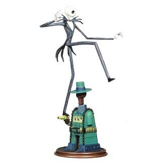 Diamond Select Toys Nightmare before Christmas Gallery PVC Statue Oogie's Lair Jack