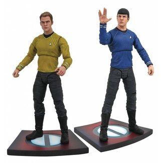 Diamond Select Toys Star Trek Into Darkness Select Action Figures 18 cm Series 1 (2)