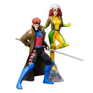 Marvel Universe ARTFX+ Statue 1/10 2-Pack Gambit & Rogue (X-Men '92) 19 cm