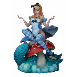 Sideshow Collectibles Fairytale Fantasies Collection Statue Alice in Wonderland 34 cm