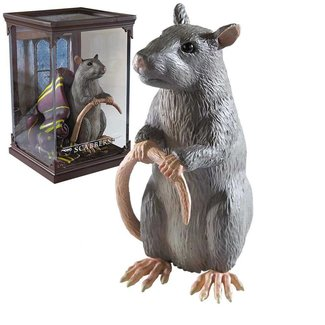 Noble Collection Harry Potter Magical Creatures Statue Scabbers 13 cm