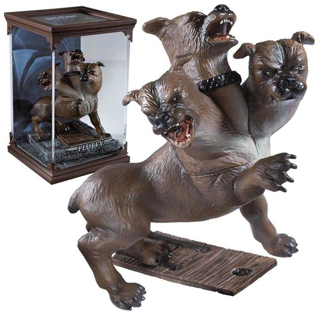 Noble Collection Harry Potter Magical Creatures Statue Fluffy 13 cm