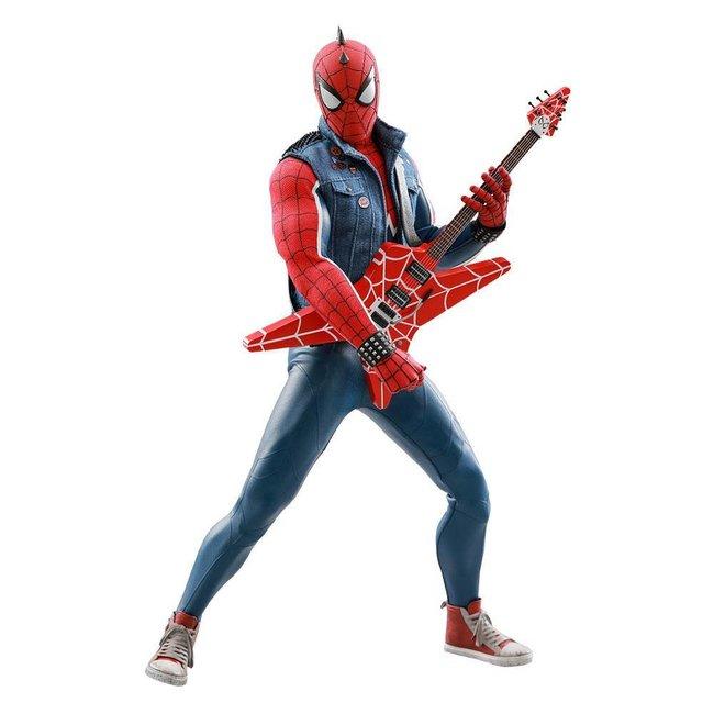 Hot Toys Marvel's Spider-Man Video Game Masterpiece AF 1/6 Spider-Punk 30 cm