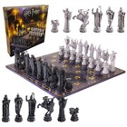 Harry Potter Chess Set Wizards Chess Deluxe Edition