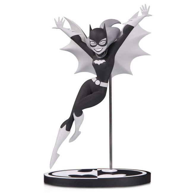 DC Collectibles Batman Black & White Statue Batgirl by Bruce Timm 18 cm