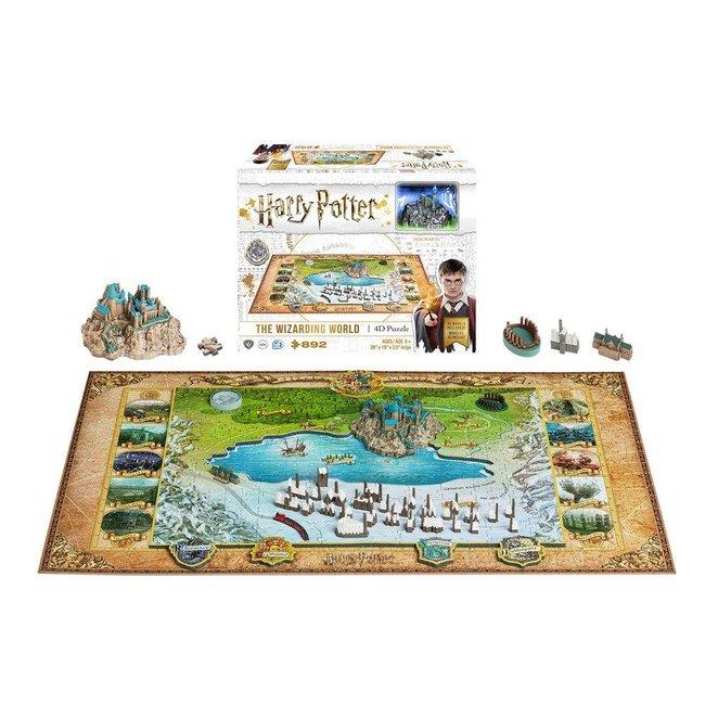 Harry Potter 4D Large Puzzle Hogwarts (892 pieces)