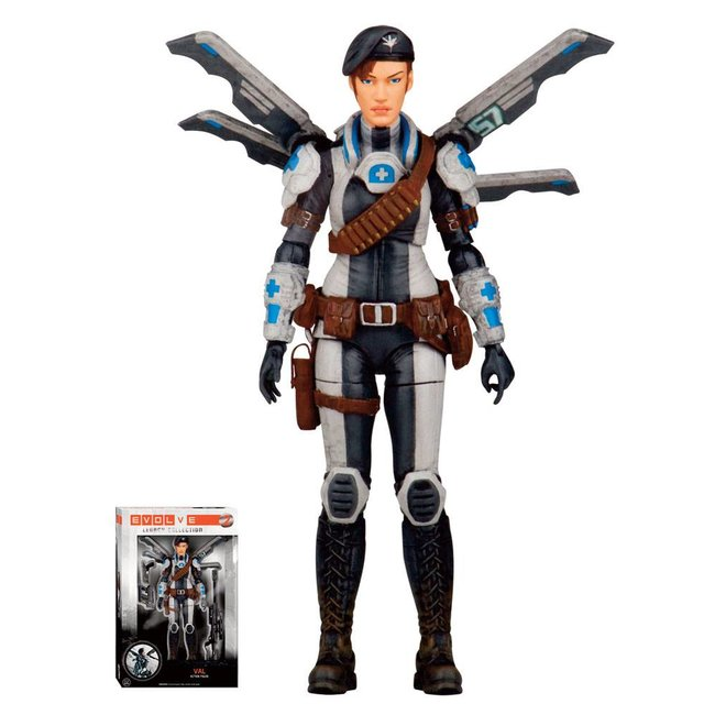 Evolve Legacy Collection Action Figure Val