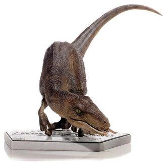 Iron Studios Jurassic Park Art Scale Statue 1/10 Crouching Velociraptor 29 cm