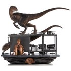 Jurassic Park Art Scale Diorama 1/10 Velociraptors in the Kitchen 33 cm