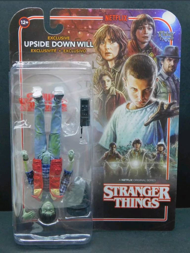 """Upside Down Will 7/"""" Action Figure Stranger Things McFarlane Toys NEW"""