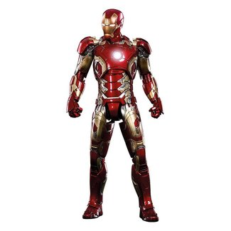 Hot Toys Avengers Age of Ultron MMS Diecast Action Figure 1/6 Iron Man Mark XLIII 31 cm