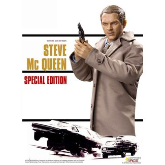Star Ace Toys The Great Escape Action Figure 1/6 Steve McQueen Special Edition 30 cm