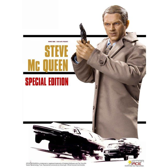 The Great Escape My Favourite Legend Action Figure 1/6 Steve McQueen Special Edition 30 cm