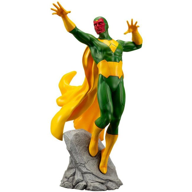 Kotobukiya  Marvel Comics ARTFX+ PVC Statue 1/10 Vision 22 cm