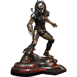 Prime 1 Studio The Predator Statue 1/4 Fugitive Predator Deluxe Version 75 cm