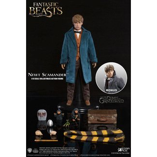 Star Ace Toys Fantastic Beasts My Favourite Movie Action Figure 1/6 Newt Scamander Grey Coat Ver. 30 cm