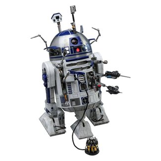 Hot Toys Star Wars Movie Masterpiece Action Figure 1/6 R2-D2 Deluxe Ver. 18 cm