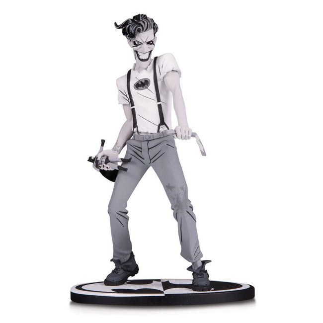 DC Collectibles Batman Black & White Statue The White Knight Joker by Sean Murphy 18 cm