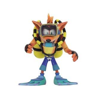 NECA  Crash Bandicoot Deluxe Action Figure Scuba Crash 14 cm