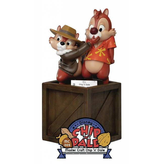 Beast Kingdom Chip 'n Dale: Rescue Rangers Master Craft Statue 35 cm