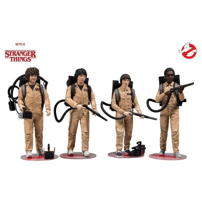 McFarlane Stranger Things Action Figure 4-Pack Ghostbusters 15 cm