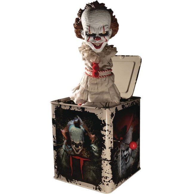 Mezco Toys Stephen King's It 2017 Burst-A-Box Music Box Pennywise 36 cm