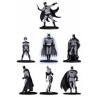 Batman Black & White PVC Minifigure 7-Pack Box Set #2 10 cm