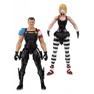 DC Collectibles Doomsday Clock Action Figure 2-Pack The Comedian & Marionette 18 cm