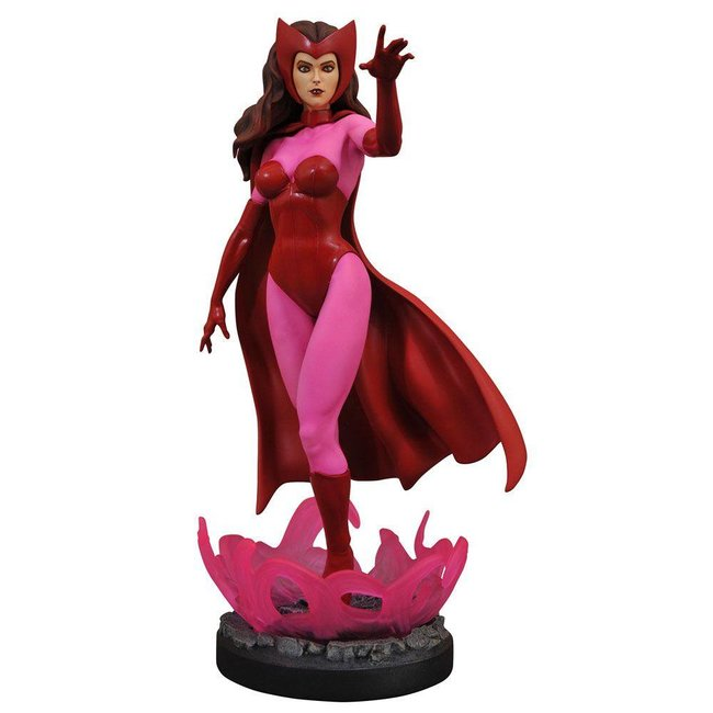 Diamond Select Toys Marvel Comic Premier Collection Statue Scarlet Witch 28 cm