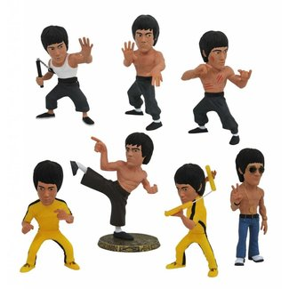 Diamond Select Toys Bruce Lee Complete D-Formz PVC Mini Figures 8 cm set (12)
